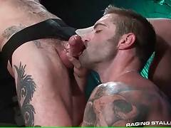 Hungry Ty licks and drills Jake`s craving asshole.