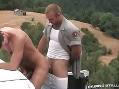 Tough Ranger Fucks His Partner Countryside 1