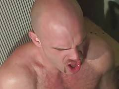 Lance Gear encourages his buddy to fuck him harder and deeper.