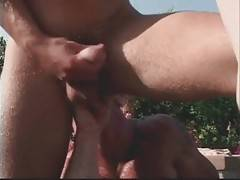 Muscled Bear Has Fun With Two Friends 1