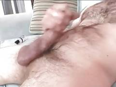 Horny Gay Bear Danzig Michaels Rubs His Dong 1