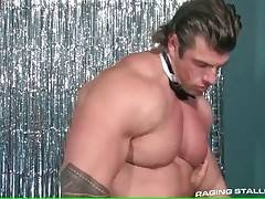 Hot Looking Muscled Guys Free Their Lust 2
